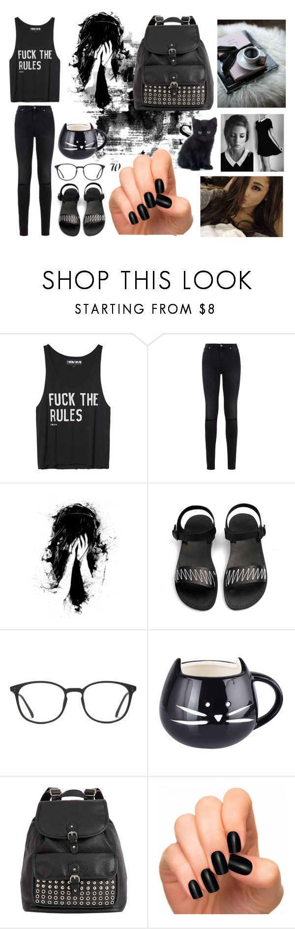 ""\ dark outfit #18 \"" by huiqic ❤ liked on Polyvore featuring Off-White, 7 For All Mankind, GlassesUSA, black and blackoutfit600|1886|?|510c866f3c25d80190d5875a40c2e7cc|False|UNLIKELY|0.35638681054115295