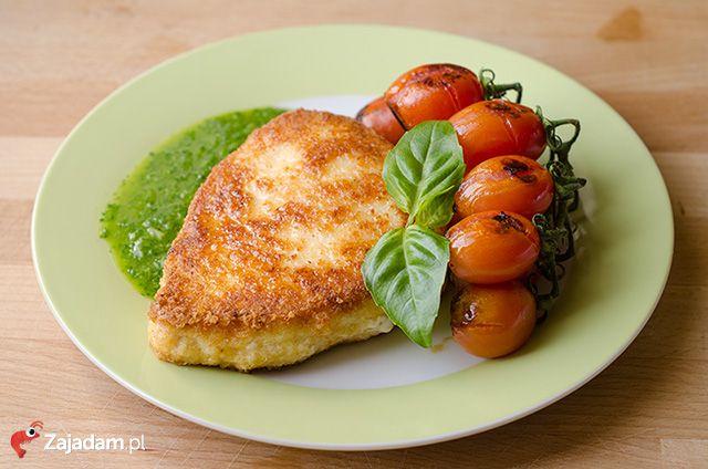 Stek z miecznika w parmezanie / Swordfish steak with Parmesan