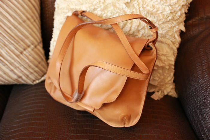 #zara #tan #sling #bag