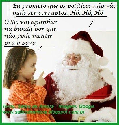 Papai Noel e sua promessa
