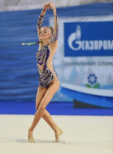 Anfisa Zaytseva, Russia, junior; interesting start