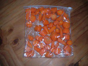 Freezing Carrots - How To Freeze Your Carrots For Later Use