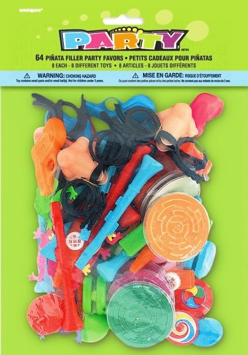 Pinata Filler Party Favours Set | Pinata Party Products | Birthday Party Loot Bag Fillers