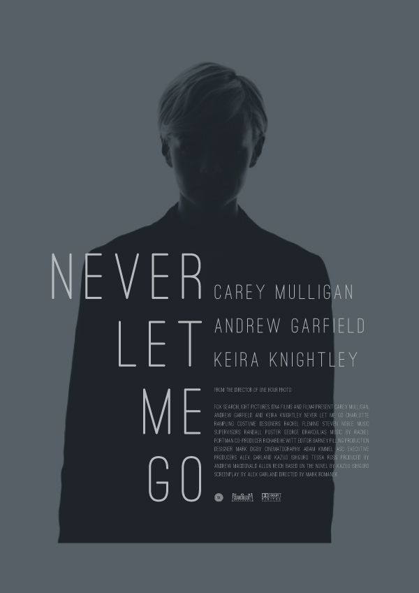 """Never Let Me Go"" movie poster"