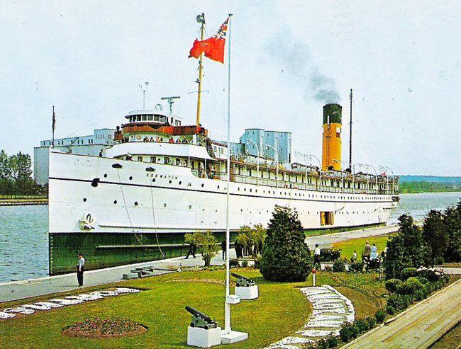 SS Keewatin  Port McNicoll