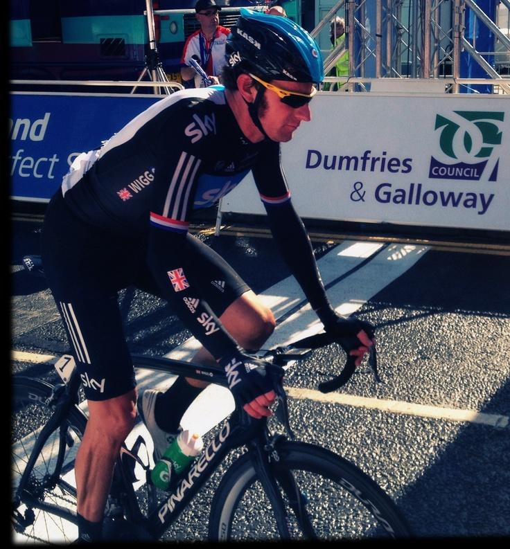 Bradley Wiggins Dumfries Tour Of Britain