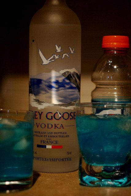 Chances are you don't have Grey Goose, but you DO have Gatorade. | 26 Lazy But Brilliant Ways To Get Drunk