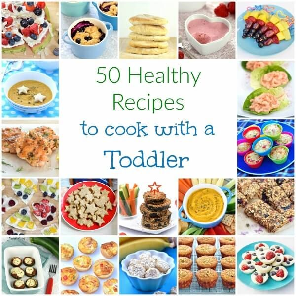 Top tips for cooking with toddlers and 50 easy healthy recipes to cook with younged kids - Eats Amazing UK