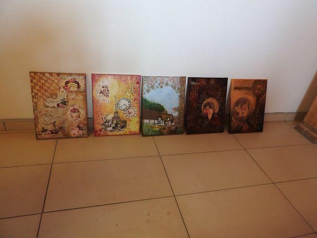KORALINY - Pracownia i sklep decoupage: Fotorelacja z warsztatów decoupage z Gościńca Astra