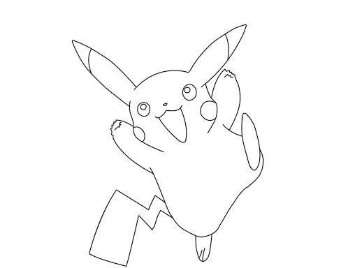 Pokemon Pikachu Coloring Pages Coloring Page Coloring Pages