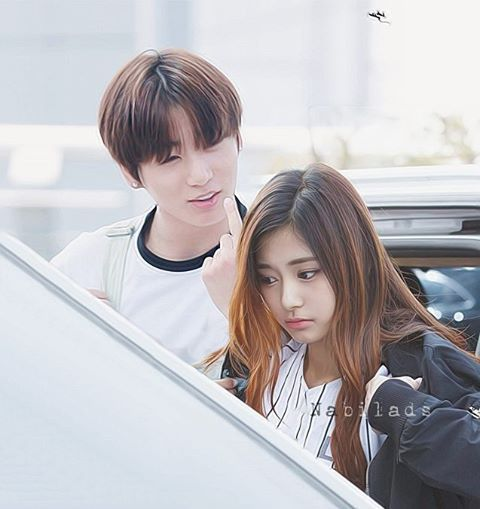 They be like.. . Jungkook : You mad at me? Tzuyu : Don't talk to me . My Tzukook…