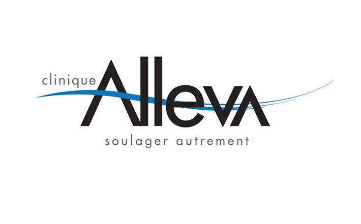Alleva, Logo / clinique santé / Healt care