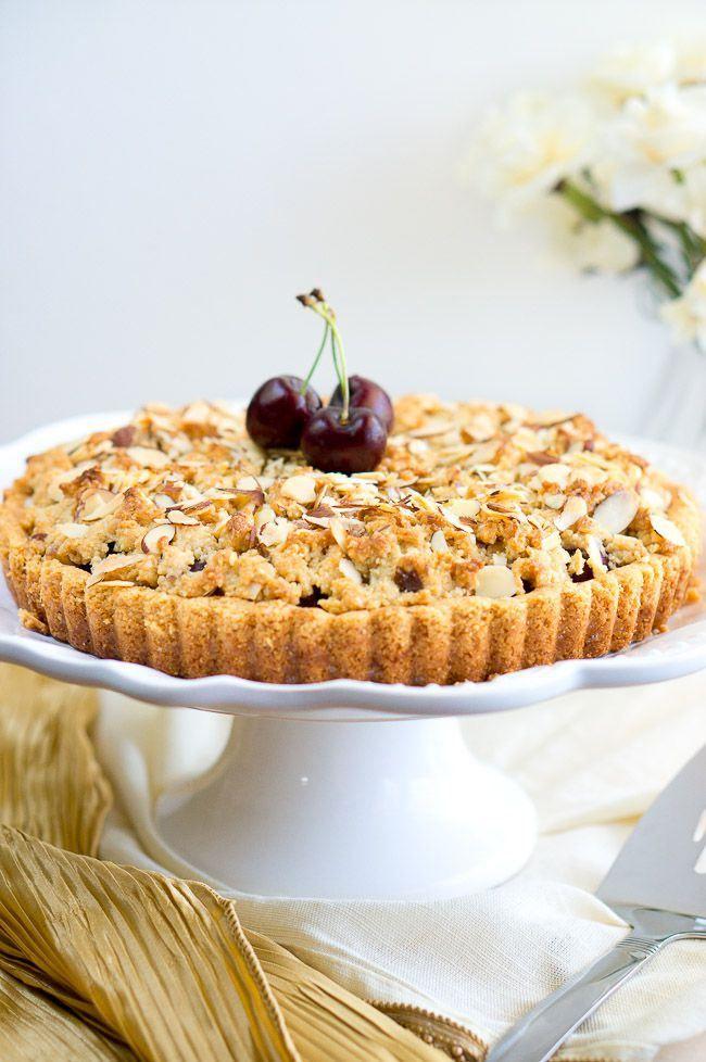 tart delicious delicious almond crumble tart cherry crumble almond ...
