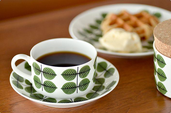 Gustavsberg│グスタフスベリBERSA コーヒーカップ&ソーサー
