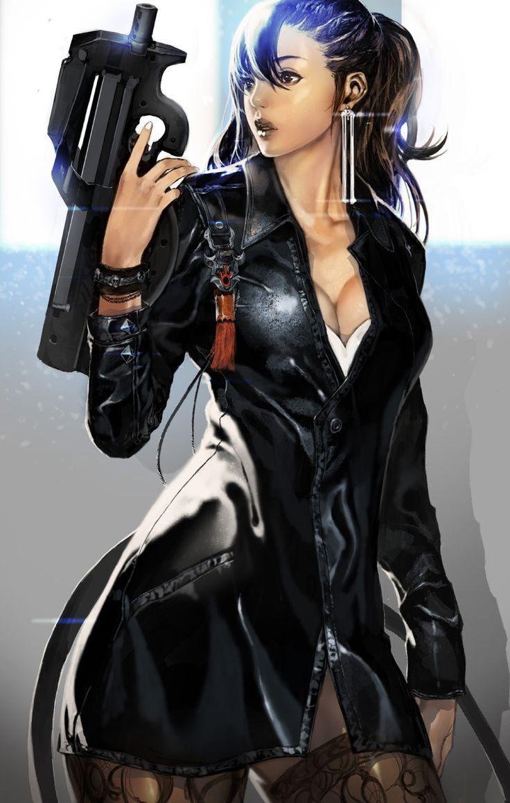 Cyberpunk Love A ninth collection of cyberpunk women