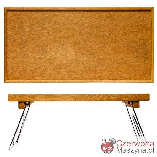 Stolik śniadaniowy Sagaform Oval Oak, rozkładany - CzerwonaMaszyna.pl