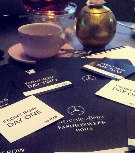 We have already our invitations! Don't miss the chance to enjoy your time at #MBFWD. See you all there!