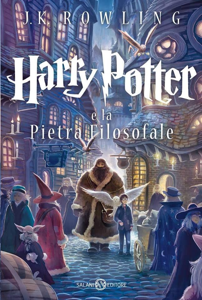 Harry Potter e la pietra filosofale di J.K. Rowling - Salani - 17 ottobre (Ed. per 15 anni)