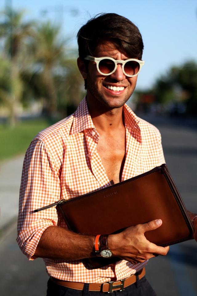 Filippo Fiora in Forte dei Marmi  Source: www.thethreef.com #roundsunglasses #fashionmen