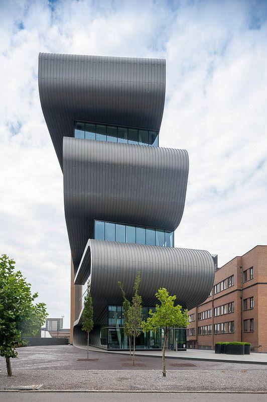 Belgium, Antwerp, Umicore office building in Hoboken desig… | Flickr - Photo Sharing!