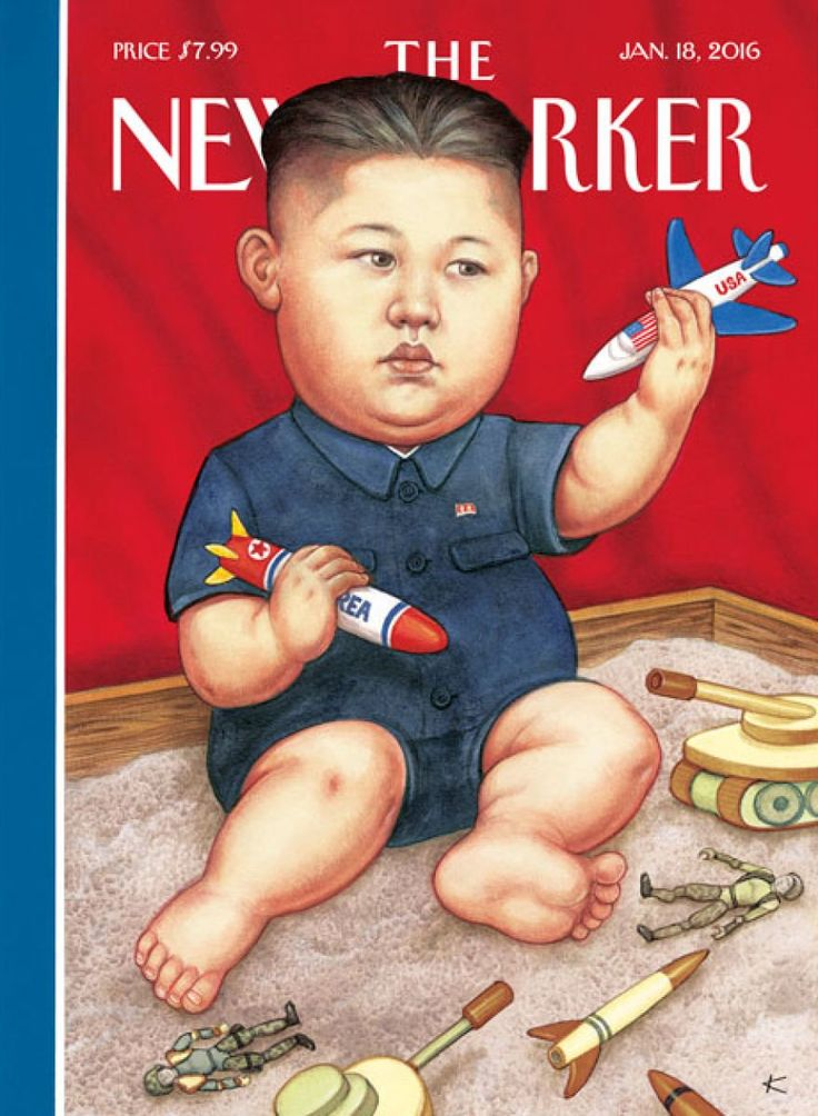 New Yorker cover depicts Kim Jong-un as baby - Business Insider