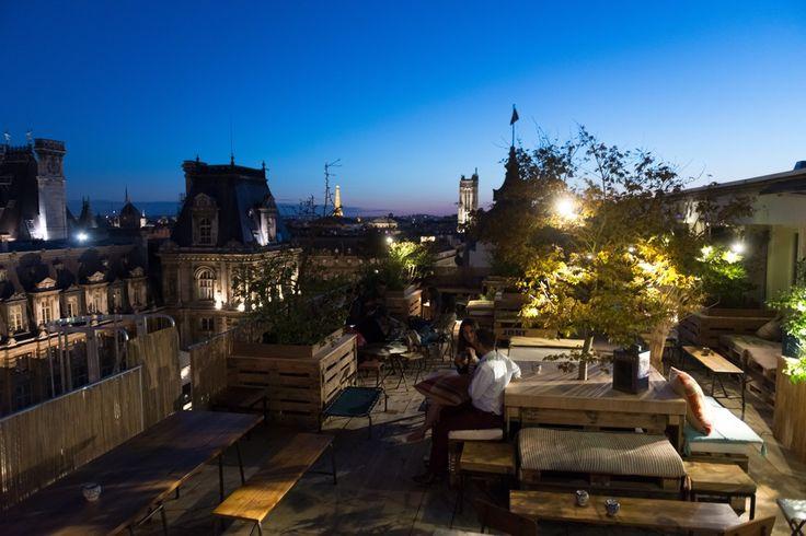 8 best images about le perchoir marais on pinterest studios rooftop terrace and paris. Black Bedroom Furniture Sets. Home Design Ideas