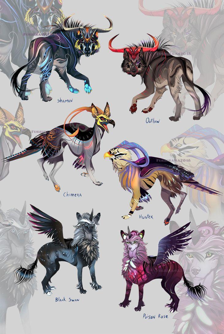 Fantasy Pack (open!) by Furrirama.deviantart.com on @DeviantArt