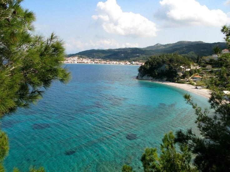 Tsamadou beach , Samos Island Greece