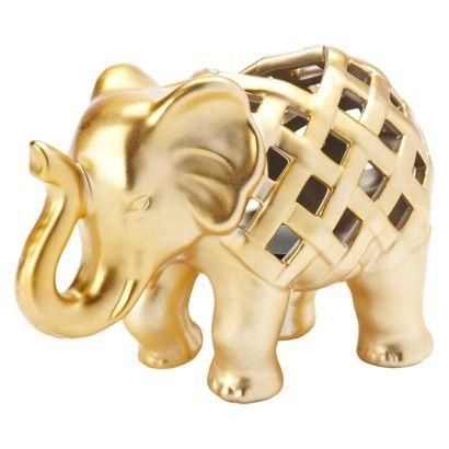 Nate Berkus™ Elephant Tealight Holder, $9.99