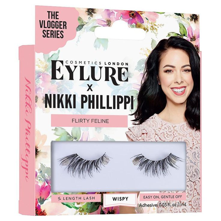 Eylure X The Vlogger Series Flirty Feline Nikki Phillippi at Walgreens. Get free shipping at $35 and view promotions and reviews for Eylure X The Vlogger Series Flirty Feline Nikki Phillippi