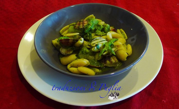 Gnocchetti rape e vongole (turnips and clams)