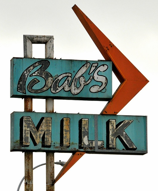 Our family drove through and bought our Milk and bread and other items there!!!!  Bab's Milk Store.......Richmond, California