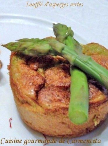 Soufflé aux asperges vertes http://www.carmen-cuisine.com/article-souffle-aux-asperges-vertes-103540074.html