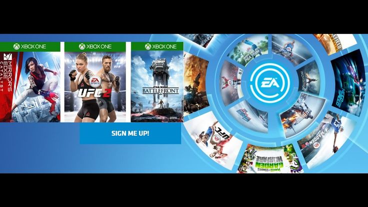 XBOX ONE EA ACCESS Gets SW Battlefront, EA UFC 2 & Mirrors Edge Catalyst...