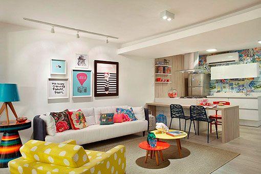 Decoraciones diferentes: apartamento femenino