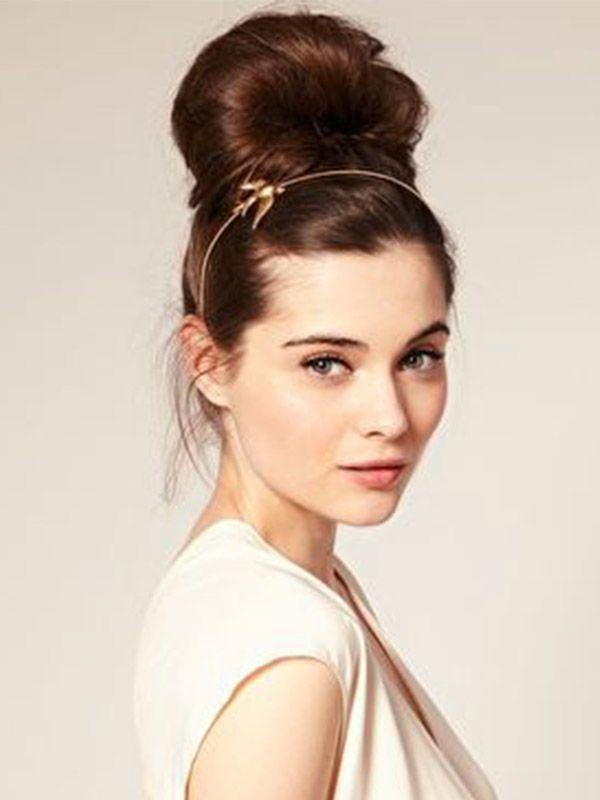 Bun with Headband - 11 Summer Hair Buns