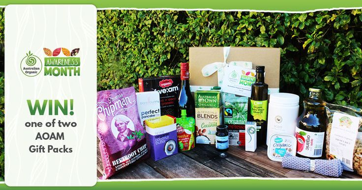 Australian Organic Awareness Month: TWO Gift Packs