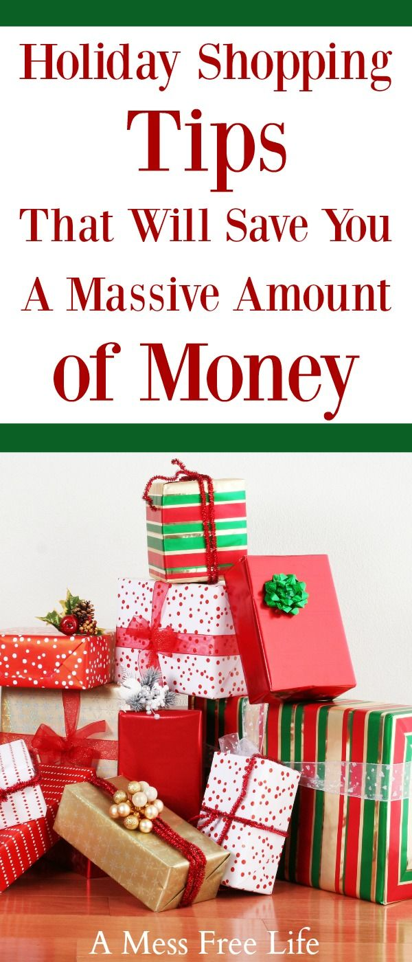 Christmas if fast approaching but you can save money this holiday season and all year long with our holiday shopping tips. Use these 7 strategies to save a massive amount of money! #holidayshopping #christmas #christmasgifts #savemoney
