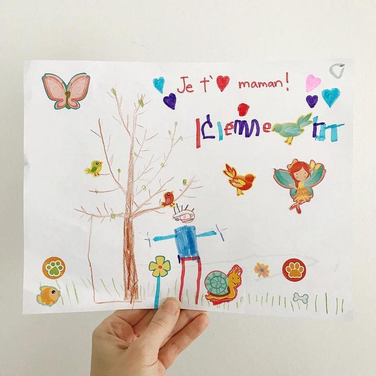 #toddlerart #clemlartiste #avoir4ansetdemi #baneaux #faitalamain #faitauquebec