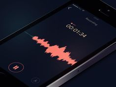 Image result for voice wave ui