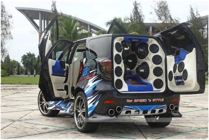 Gambar Foto Modifikasi Mobil Toyota Rush