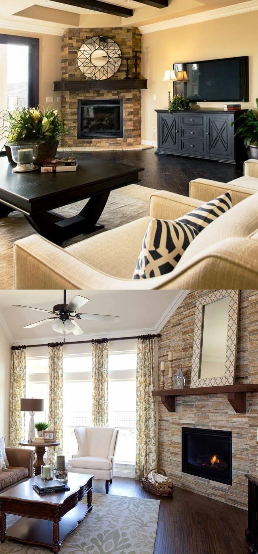 20 Elegant Corner Fireplace Ideas Designs For Your Home 2021 Corner Fireplace Elegant Home Decor Fireplace Remodel