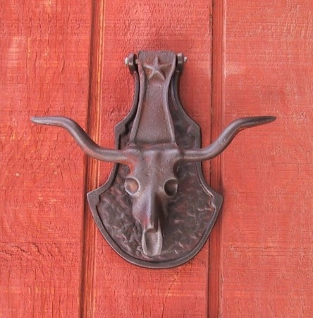 Cast Iron Steer Head Door Knocker & 352 best Entry Details--doorknobs knockers handleshinges ... Pezcame.Com
