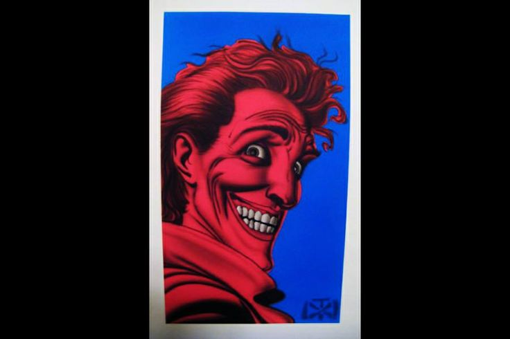 Old joker comic batman