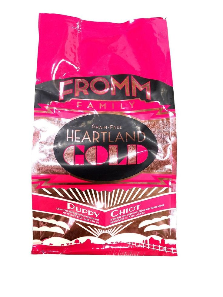 Fromm Heartland Gold Grain Free Puppy 4lb >>> Startling