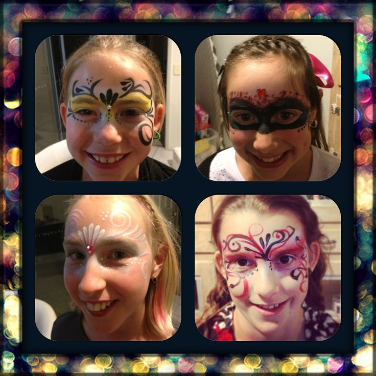 School Masquerade disco. Willow and friends