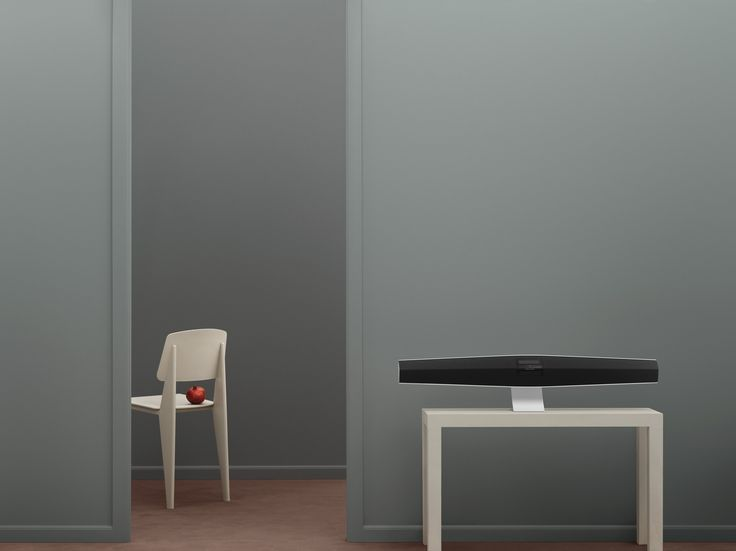 BeoSound 35 is designed to fill the entire room with well-balanced sound, whether placed on a table or a wall.