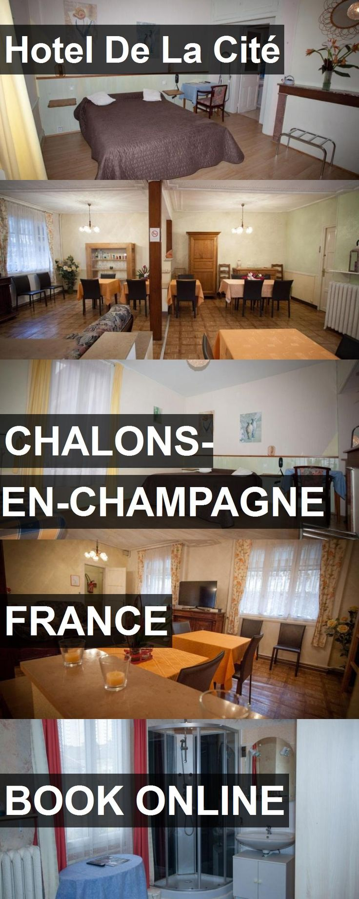 Hotel De La Cité in Chalons-en-Champagne, France. For more information, photos, reviews and best prices please follow the link. #France #Chalons-en-Champagne #travel #vacation #hotel