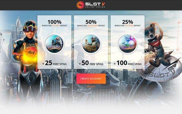 официальный сайт slot v промокод