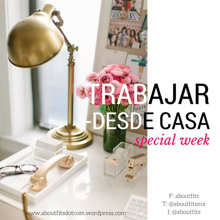 Cómo trabajar desde casa | Special Week | Fashion & Style Blog | aboutfits, home office, freelance, tips, trabajo